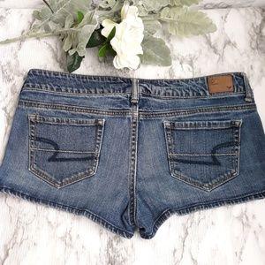 AEO Stretch Denim Shorts Size 10